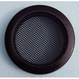 Вентиляционная решетка каминная круглая Parkanex старая медь