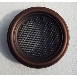 Вентиляционная решетка круглая для камина Parkanex медная патина