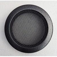 Вентиляционная каминная решетка круглая Parkanex старое серебро
