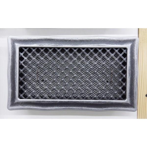 Вентиляционная металлическая каминная решетка «Деко»