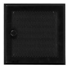 Вентиляционная решетка для камина Standart черная с жалюзи