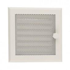 Решетка вентиляционная для каминов с жалюзи Standart кремовая