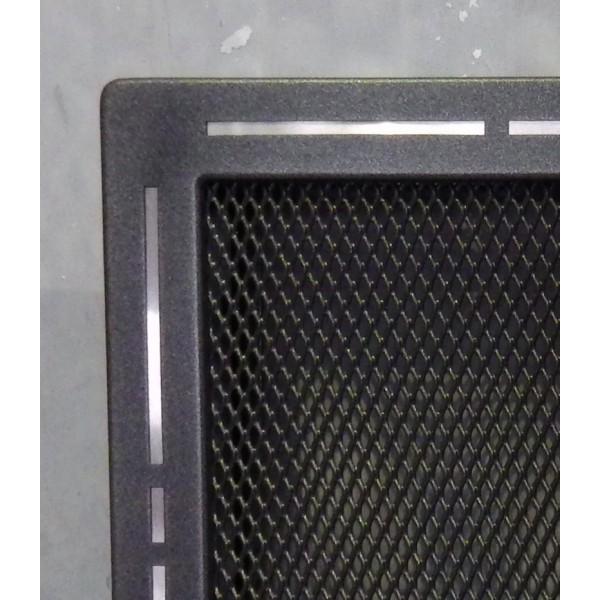 Решетка вентиляционная для камина «Тренд» графит