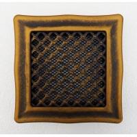 Решетка вентиляционная металлическая «Деко»