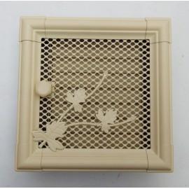 Решетка вентиляционная металлическая для камина «Retro»
