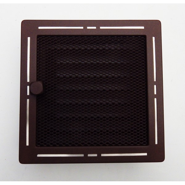 Декоративная вентиляционная решетка из металла «Тренд»