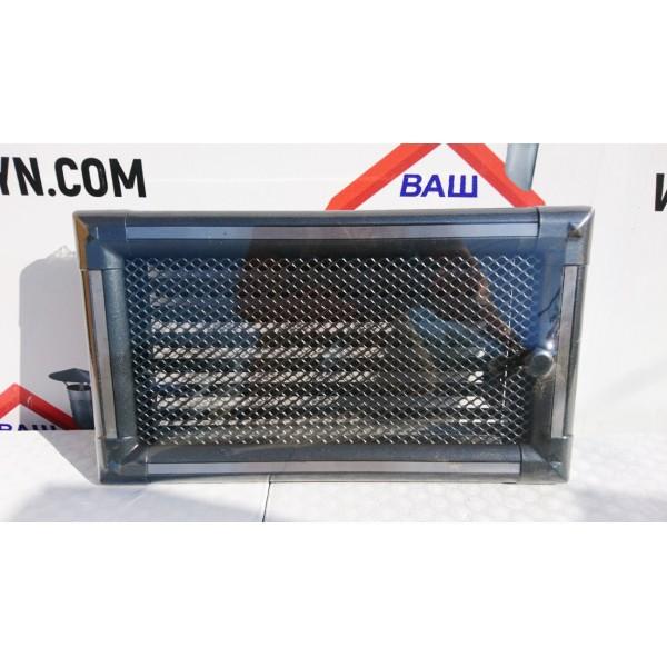 Решетка вентиляционная для каминов «Exclusive» графит-инокс