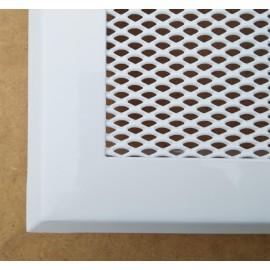 Каминная решетка вентиляционная Standart белая