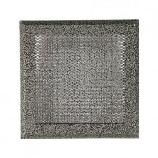 Вентиляционная решетка Standart старое серебро для камина