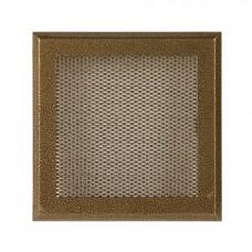 Вентиляционная каминная решетка Standart старое золото